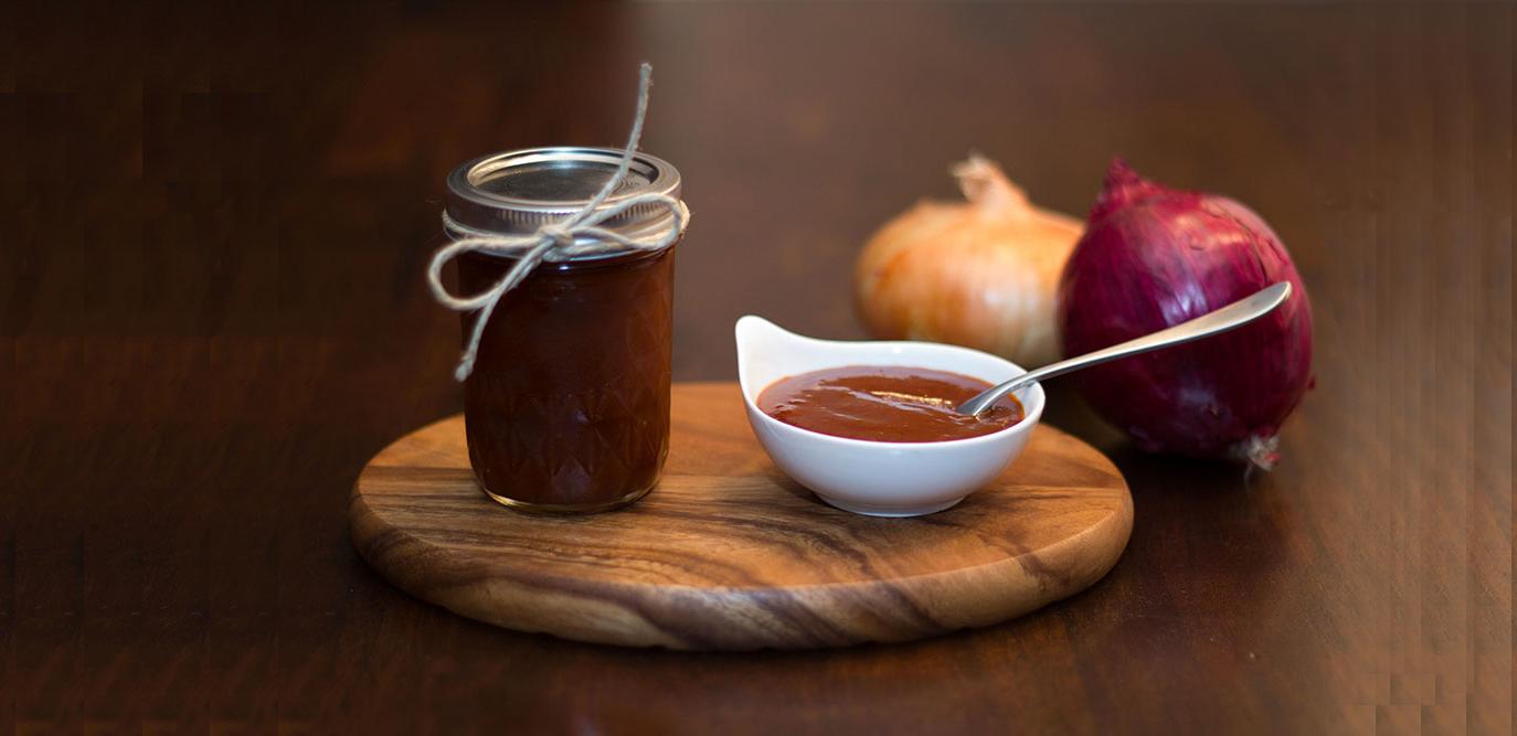 Homemade-tomato-and-BBQ-sauce