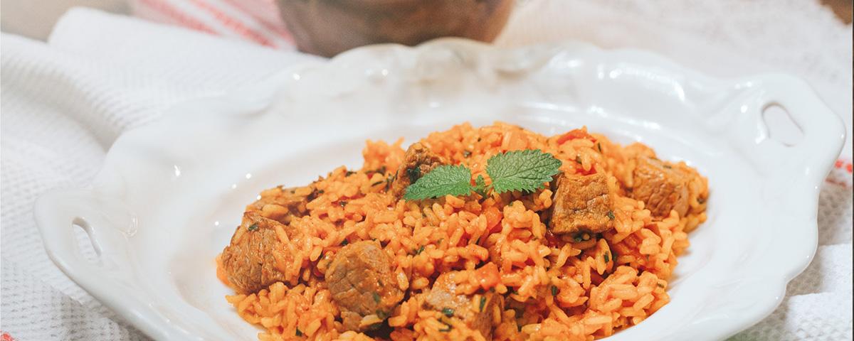 Rižoto s janjetinom i povrćem