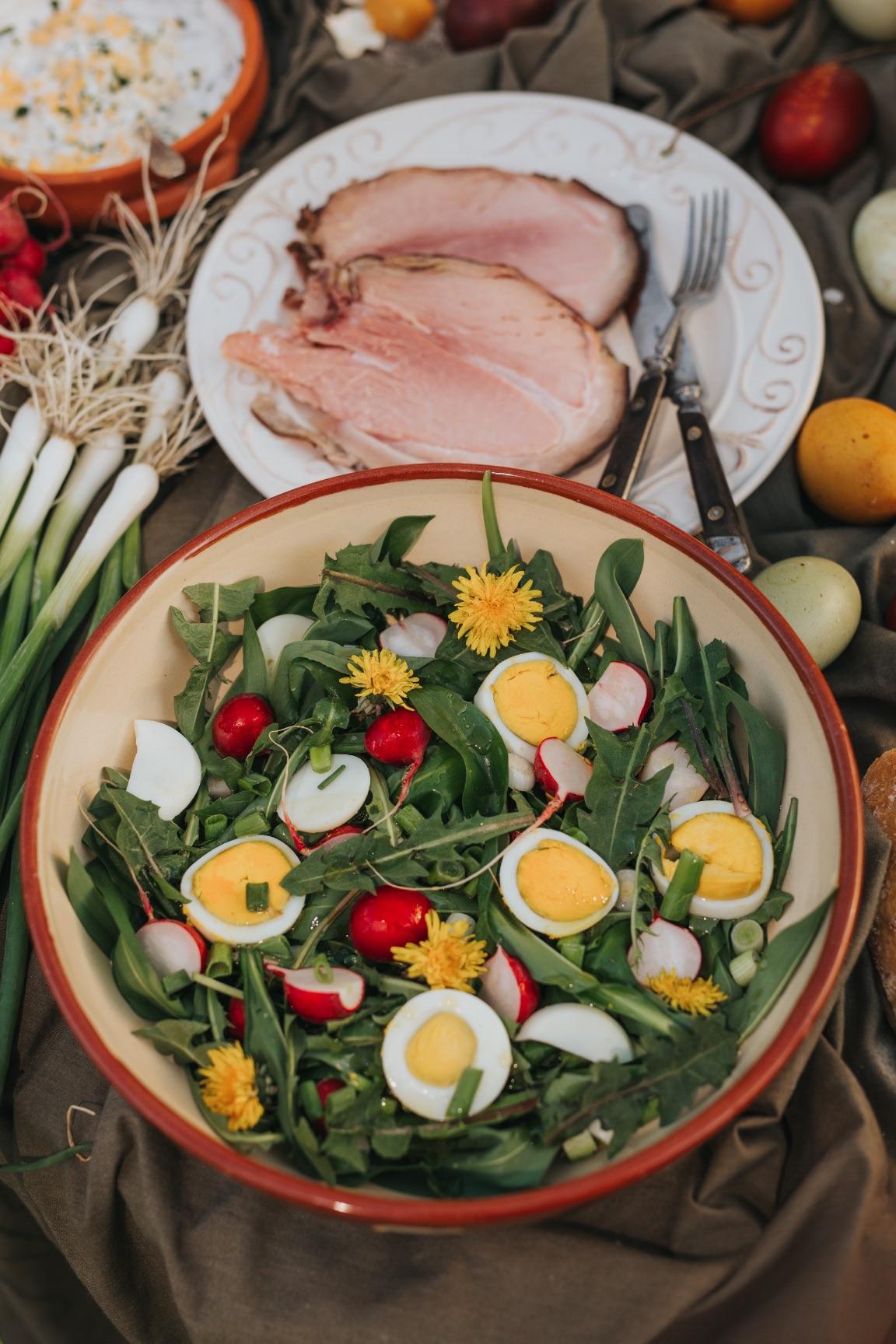 Ravlić šunka salata