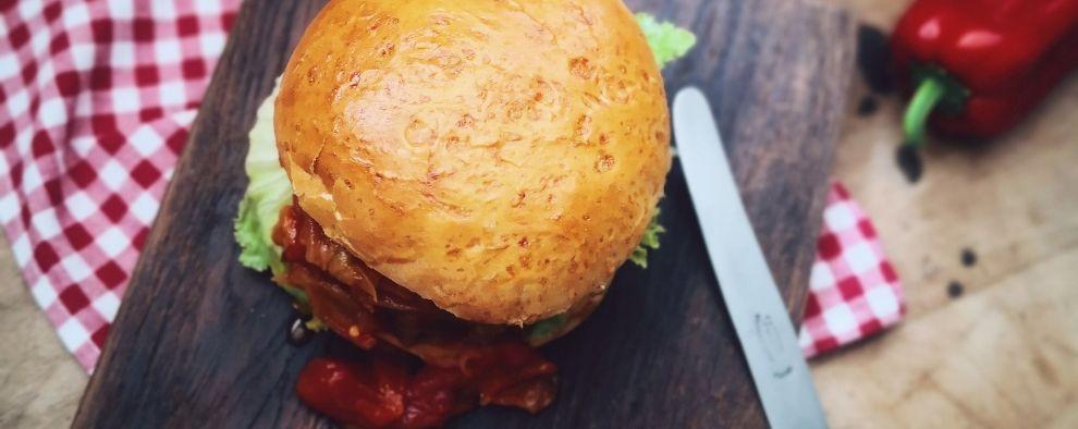 Slavonski burger by maXYama
