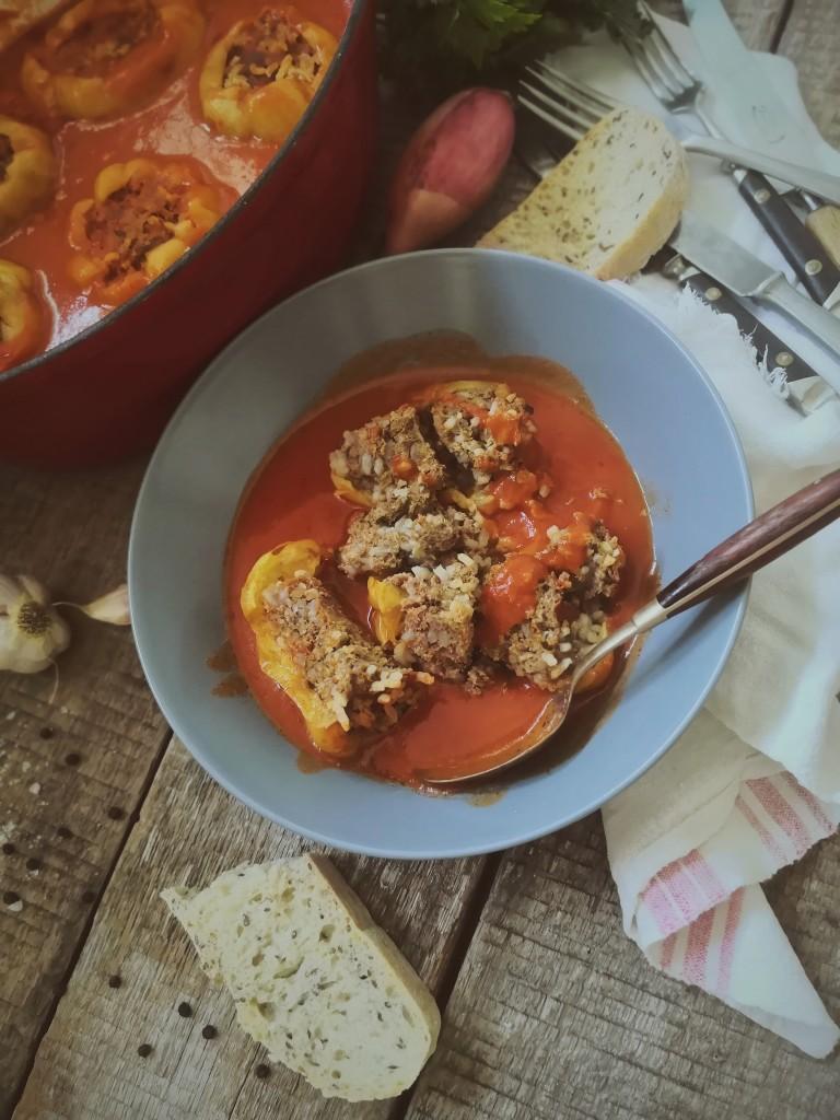Ravlić punjene paprike